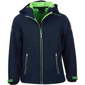 TROLLKIDS Trollfjord Jacket Kids navy/light green